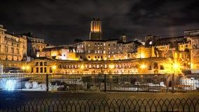 The Roman forums Royalty Free Stock Photos
