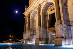 Roman Fountain em Roma Imagens de Stock