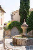 Roman fountain Stock Photography
