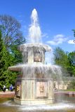 Roman fountain in Petergof Palace, Russia Royalty Free Stock Image