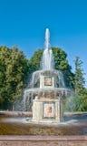 Roman fountain in Peterhof, russia Stock Photos