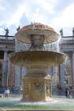 Roman fountain Royalty Free Stock Photo