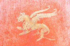 Free Roman Fresco In Pompeii, Italy. Royalty Free Stock Photography - 36320187