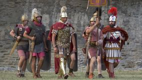 Roman Gallic War Roman Legionary archivi video