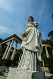 Roman Garden på den Phayathai slotten Royaltyfri Bild