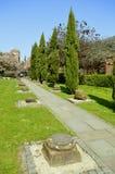 Roman Gardens a Chester fotografia stock