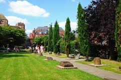 Roman gardens, Chester. Royalty Free Stock Photography