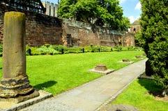 Roman Gardens a Chester fotografie stock libere da diritti