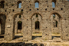 Roman gate in Butrint, Albania Royalty Free Stock Images
