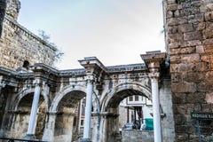 Roman gate Stock Photo