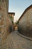 Roman Gate in Plovdiv Bulgaria. Ancient Roman Gate and walls in Plovdiv Bulgaria Royalty Free Stock Photography