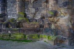 Roman Gate Porta Nigra è la migliore costruzione romana conservata a nord delle alpi Fotografia Stock Libera da Diritti