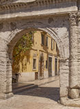 Roman Gate in Verona Royalty Free Stock Images