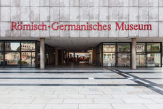 Roman Germanic museum in Cologne Royalty Free Stock Images