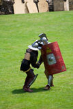 roman gladiators royaltyfri bild