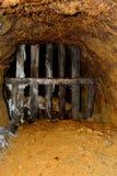 Roman gold mines in Rosia Montana, Apuseni Mountains, Transylvania. Rosia Montana is a commune of Alba County in the Apuseni Mountains of western Transylvania Stock Photo
