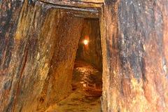 Roman gold mines in Rosia Montana, Apuseni Mountains, Transylvania. Rosia Montana is a commune of Alba County in the Apuseni Mountains of western Transylvania Royalty Free Stock Images