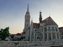 Roman-Gothic Matthias Church in Budapest Royalty Free Stock Images