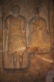 Roman Gravestone in Chester England royalty-vrije stock foto's