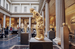 The Roman and Greek Galleries at the Metropolitan Museum of Art Stock Images