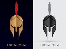 Roman or Greek Helmet Royalty Free Stock Photo