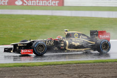 Roman grosjean, lotus F1 Stock Photo