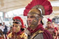 Roman Group histórico en la expo 2015 en Milán, Italia Fotos de archivo libres de regalías