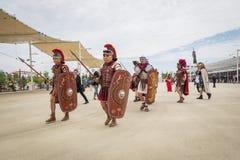 Roman Group histórico en la expo 2015 en Milán, Italia Fotografía de archivo
