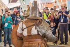 Roman Group histórico en la expo 2015 en Milán, Italia Fotografía de archivo libre de regalías