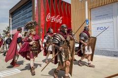 Roman Group histórico en la expo 2015 en Milán, Italia Imágenes de archivo libres de regalías