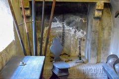 Roman Guard Room At Sant 'Angelo Castle Italy royalty-vrije stock fotografie