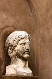 Roman half-length statue Royalty Free Stock Images