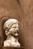 Roman half-length statue Royalty Free Stock Images