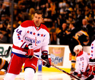 Roman Hamrlik Washington Capitals Immagini Stock