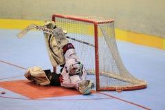 Roman Handl - czech inline hockey Royalty Free Stock Photos