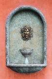Roman head fountain Royalty Free Stock Image