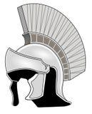 Roman helmet. Antique roman helmet, roman soldier vector illustration