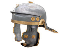 Roman Helmet. Isolated illustration of a First Century Roman Helmet Royalty Free Stock Photography