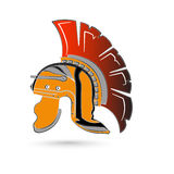 Roman helmet Royalty Free Stock Image