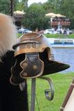 Roman helmet Stock Image