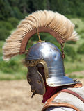 Roman helmet. Close up view on it Royalty Free Stock Images