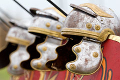Roman helmets Royalty Free Stock Images