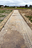 Roman heritage site in Paphos, Cyprus. Stock Image
