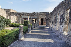 Roman House Pompeii Stock Photo