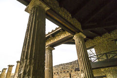 Roman House Stock Photo
