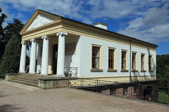 Roman House in Weimar Stockbilder