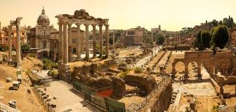 Roman Imperial Fora Fotos de archivo