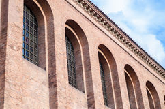 Roman Imperial Throne Room, Konstantin-Basilika, Trier, Duitsland Stock Foto