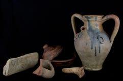 Roman jug Royalty Free Stock Image