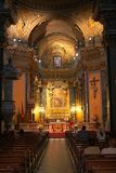 Roman kathedraal stock foto's